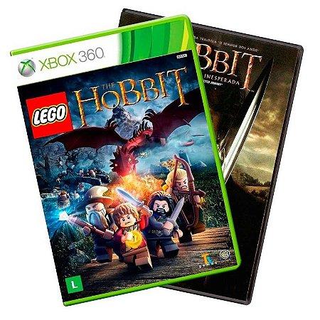 Jogo LEGO The Hobbit + Filme Hobbit DVD - Xbox 360