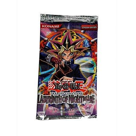 Pack de cartas Yu-Gi-Oh! Labyrinth of Nightmare em inglês