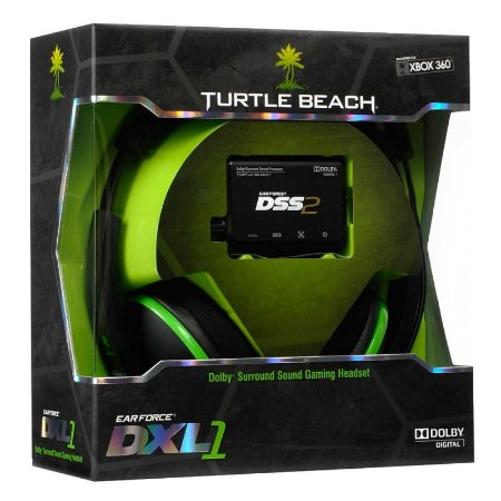 Headset Turtle Beach Ear Force DXL1 com fio - Xbox 360, Xbox One