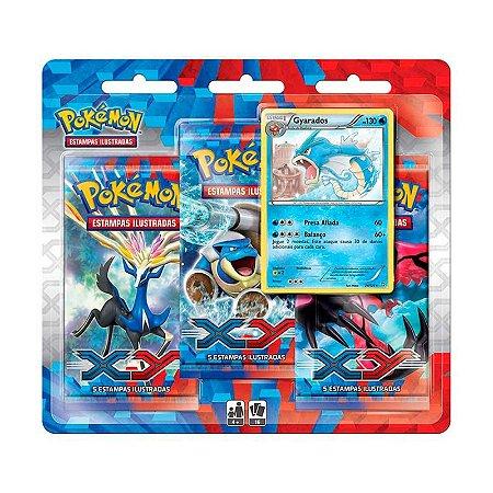 Pack de cartas Pokémon XY 1 Gyarados em português