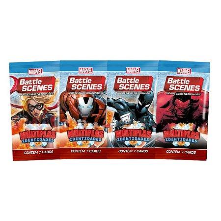 Pack de cartas Marvel Battle Scenes: Multiplas Identidades em português