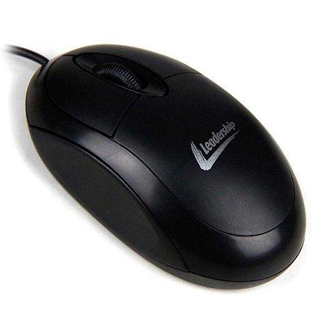 Mini Mouse Óptico Leadership Basic PS/2