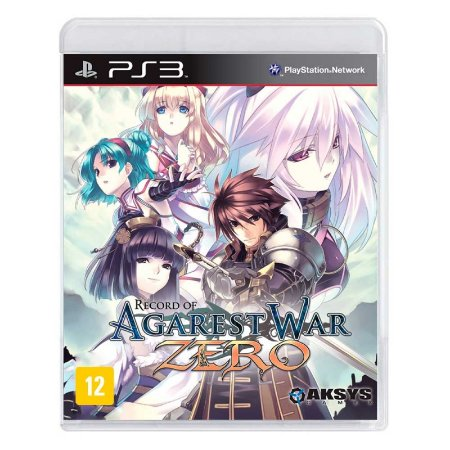 Jogo Record of Agarest War Zero - PS3