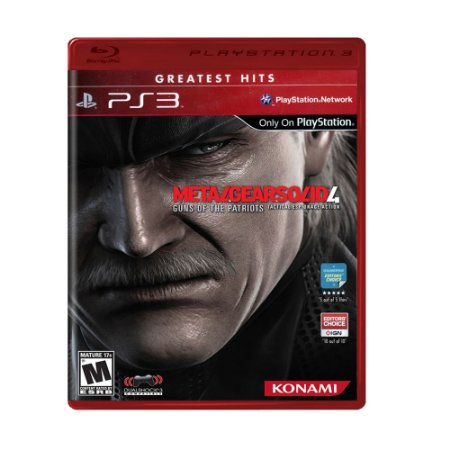 Jogo Metal Gear Solid 4: Guns of the Patriots - PS3