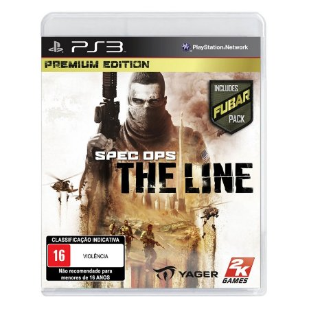 Jogo Spec Ops: The Line (Premium Edition) - PS3
