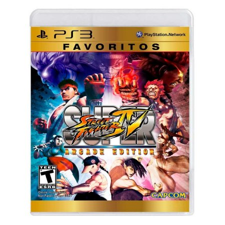 Jogo Super Street Fighter IV (Arcade Edition) - PS3