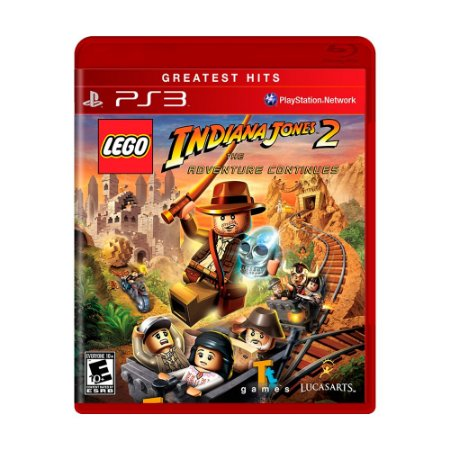 Jogo LEGO Indiana Jones 2: The Adventure Continues - PS3
