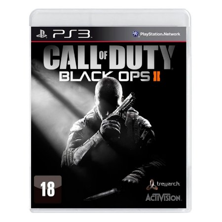 Jogo Call of Duty: Black Ops II - PS3