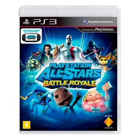 Jogo PlayStation All-Stars Battle Royale - PS3