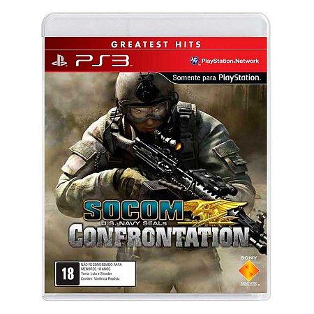 Jogo SOCOM: U.S. Navy SEALs Confrontation - PS3