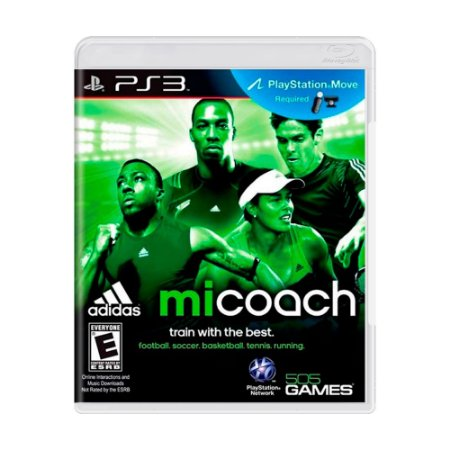 Jogo Adidas miCoach - PS3