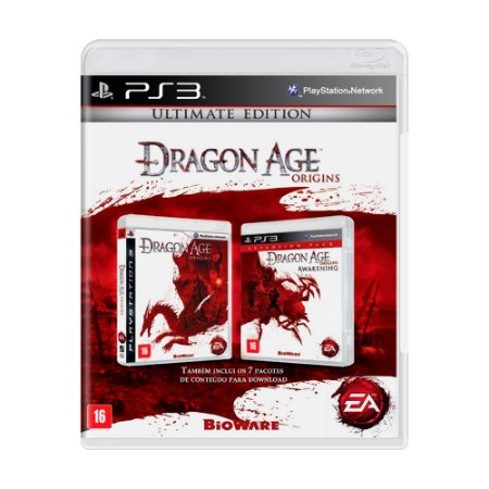 Jogo Dragon Age Origins (Ultimate Edition) - PS3