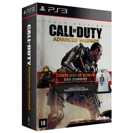 Jogo Call of Duty: Advanced Warfare (Gold Edition) - PS3