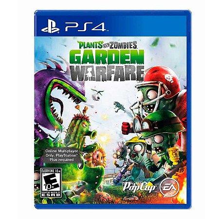 Jogo Plants vs. Zombies: Garden Warfare - PS4