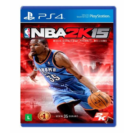 Jogo NBA 2K15 - PS4