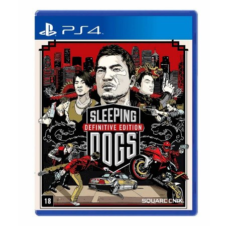 Jogo Sleeping Dogs: (Definitive Edition) - PS4