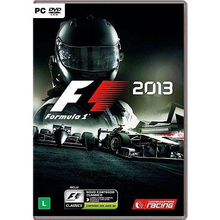 Jogo Formula 1 2013 (Edição Clássica) - PC