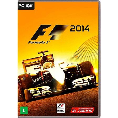 Jogo Formula 1 2014 - PC