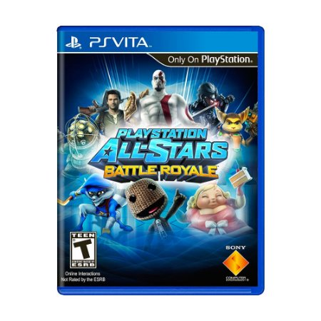 Jogo PlayStation All-Stars Battle Royale - PS Vita