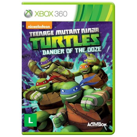 Jogo Teenage Mutant Ninja Turtles: Danger of the Ooze - Xbox 360
