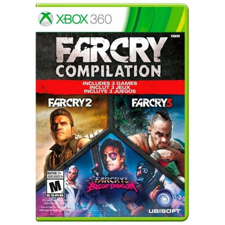 Jogo Far Cry Compilation - Xbox 360