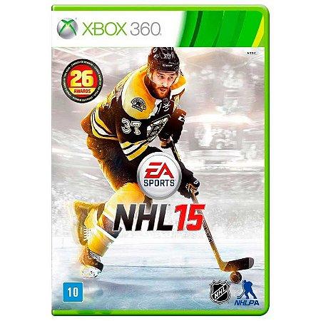 Jogo NHL 15 - Xbox 360
