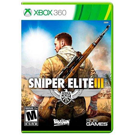 Jogo Sniper Elite III - Xbox 360