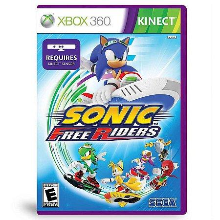 Jogo Sonic Free Riders - Xbox 360