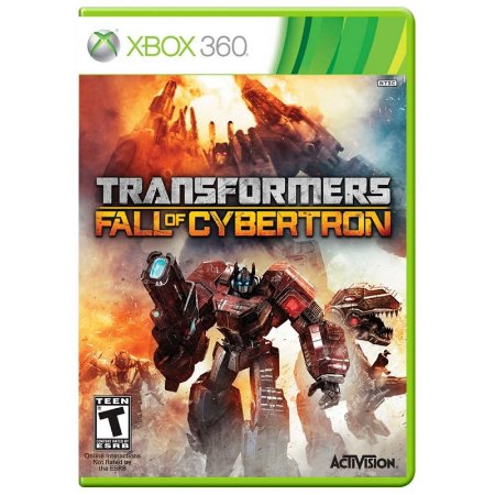 Jogo Transformers: Fall of Cybertron - Xbox 360