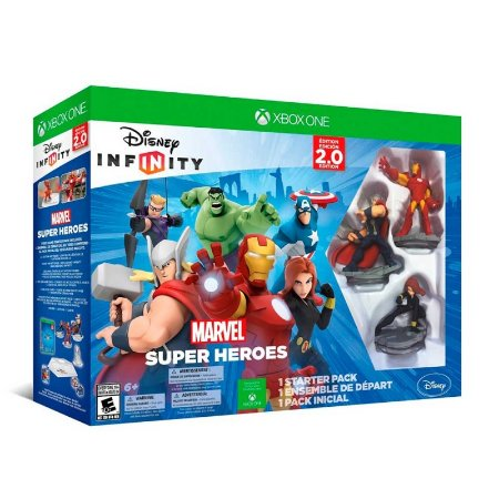 Jogo Disney Infinity 2.0: Marvel Super Heroes - Xbox One