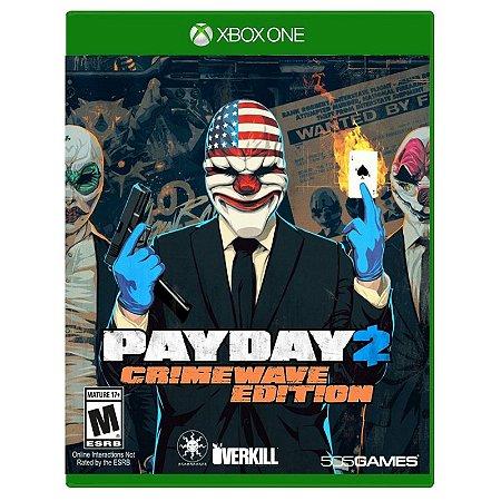 Jogo Payday 2 (Crimewave Edition) - Xbox One
