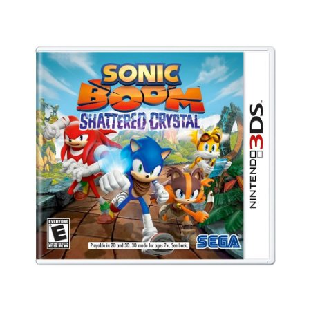 Jogo Sonic Boom: Shattered Crystal - 3DS