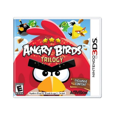 Jogo Angry Birds Trilogy - 3DS