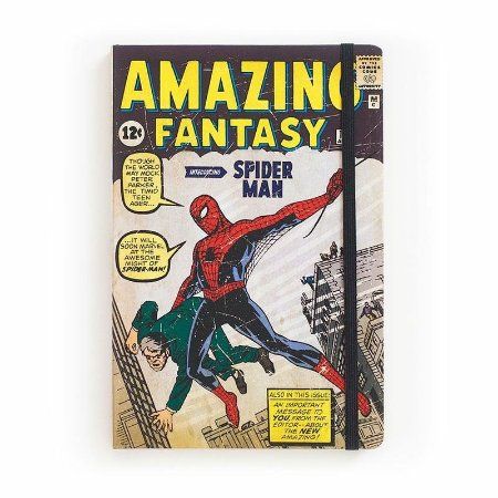 Caderno de Notas Amazing Fantasy #15 Marvel - StudioGeek