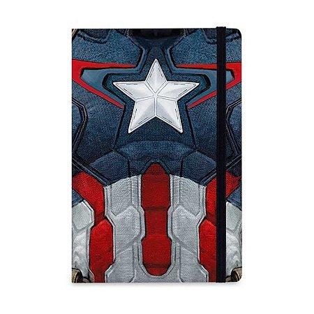 Caderno de Notas Capitão América Vingadores - StudioGeek