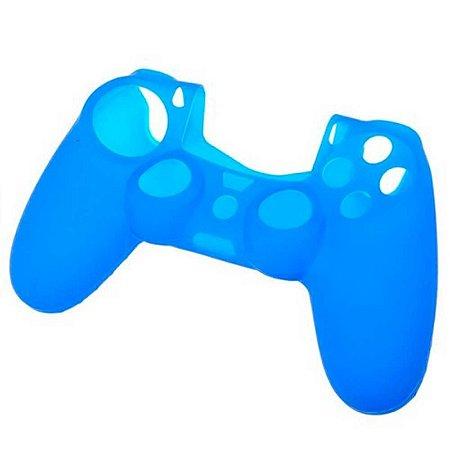 Capa De Silicone Tomee Azul - PS4