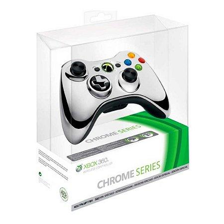 Controle Microsoft Edição Especial Cromado sem fio - Xbox 360