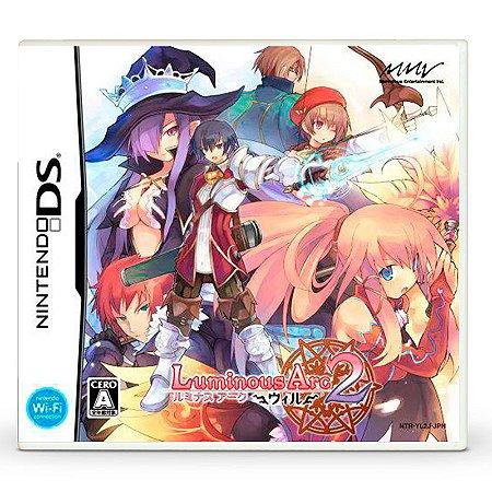 Jogo Luminous Arc 2 - DS