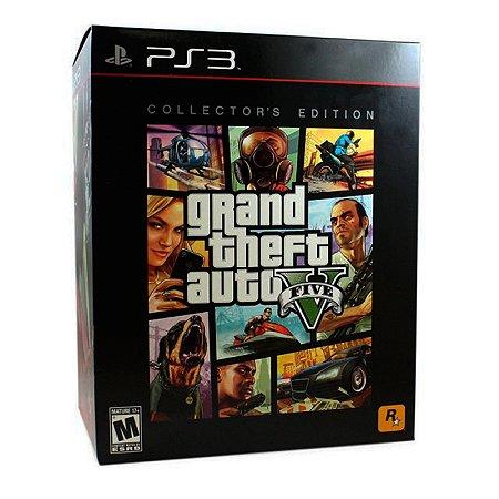 Jogo Grand Theft Auto V - GTA 5 (Collector's Edition) - PS3