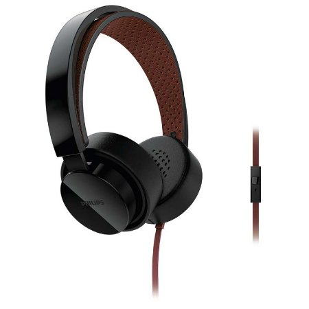 Headphone Philips Shibuya CitiScape SHL5205 Preto com fio - PC