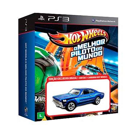 Jogo Hot Wheels: O Melhor Piloto do Mundo + Carrinho 71 Mustang Boss 351 - PS3