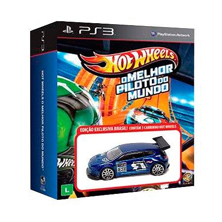Jogo Hot Wheels: O Melhor Piloto do Mundo + Carrinho Volkswagen Scirocco Gt 24 - PS3