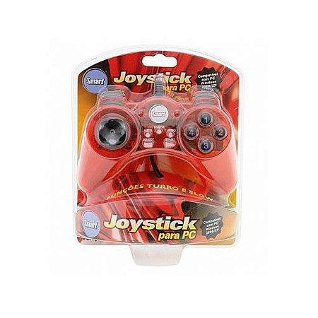 Joystick Smart Vermelho - PC