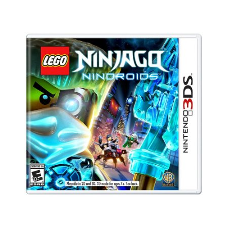 Jogo LEGO Ninjago Nindroids - 3DS