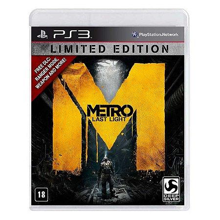 Jogo Metro: Last Light (Limited Edition) - PS3