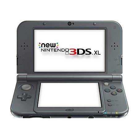 Console New Nintendo 3DS XL Preto - Nintendo