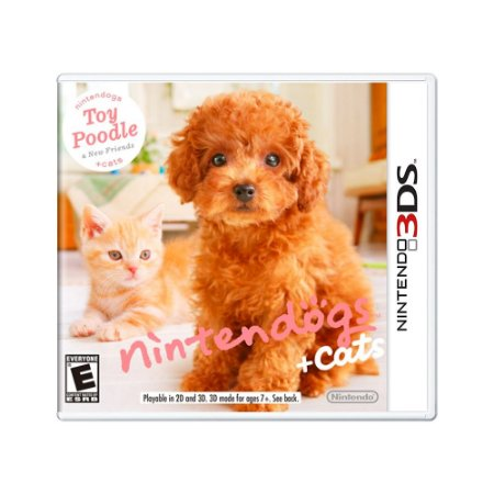 Jogo Nintendogs + Cats: Toy Poodle & New Frieds - 3DS