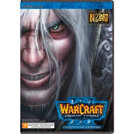 Jogo Warcraft III: The Frozen Throne - Pacote de Expansão - PC