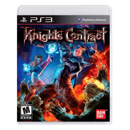 Jogo Knights Contract - PS3