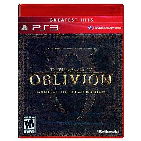 Jogo The Elder Scrolls IV: Oblivion (GOTY) - PS3